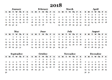 2018 calendar templates download 2018 monthly yearly templates