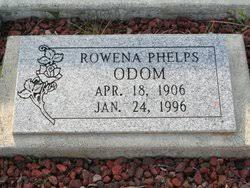 Rowena Eleanor Gann Odom (1906-1996) - Find A Grave Memorial