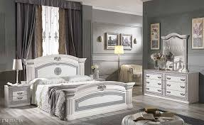 italian white furniture. White-Silver-Classic-Italian-Bedroom-Furniture-Set Italian White Furniture