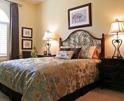 A Warm And Inviting Guest Room With Blackout Curtains Bedroom Furniture71
