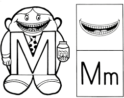 The Letter People Coloring Pages 28804, - Bestofcoloring.com