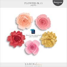 Paper Flower Designs Flowers No 15 Cu
