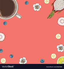 Blank Menu Card Design Templates Card Or Menu Template With Coffee And Desserts