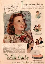 Good Housekeeping Advertising 1945 Good Housekeeping Magazine Advertisement Max Factor Pan Cake