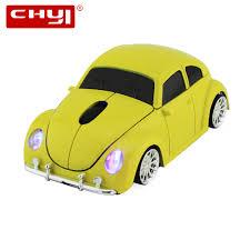 <b>CHYI Wireless</b> Computer <b>Mouse Gamer</b> Cool Mini Car Shape Mice ...