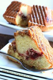 Impress guests with this moist sour cream coffee cake recipe. Cranberry Pecan Streusel Sour Cream Coffee Cake A Feast For The Eyes