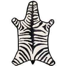 jonathan adler llama wool zebra rug large0