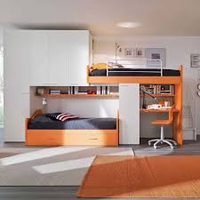 kids bedroom furniture boys. \u0027Orange\u0027 Kid\u0027s Bedroom Furniture Set With Truckle-bunk Beds By Siluetto : Kids Boys G