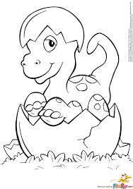 Cute Baby Dinosaurs Coloring Pages For Kids 6439 Cute Baby