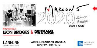 Maroon 5 United Center Seating Chart Maroon 5 Maroon5 Twitter