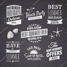 Chalkboard Designs Summer Chalkboard Designs Stock Vector Ac Ivaleks 28286255