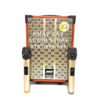 Loa Kéo Karaoke Mini Bose 808 - Loa kẹo kéo di động - Bass 2 tấc kèm 2  micro không dây