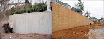 Small Picture Concrete Retaining Walls Design Home Design Ideas