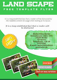 lawn care advertising templates fresh lawn care flyer template free templates