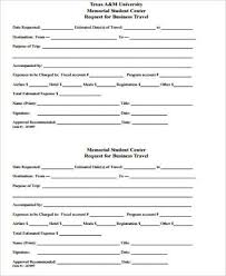 Sample Of Order Form Template Business Travel Request Form Template Travel Request Form Template