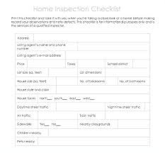 Home Inspection Checklist Magnificent Home Inspection Report Template Awesome Professional Checklist