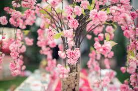 the spring in with these quick and easy to make cherry blossom