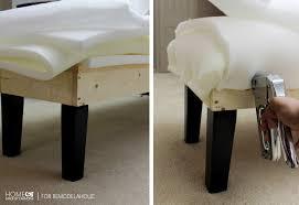upholster bench hmc for remodelaholic