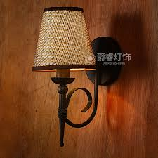 get ations jazz duo creative retro single head wall lamp wall lamp american country past wrought