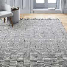 basketweave indoor outdoor rug black