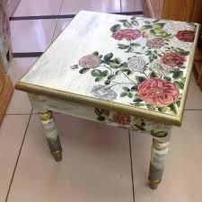 decoupage ideas for furniture. simple decoupage beautiful little table  decoupage tablediy  for ideas furniture
