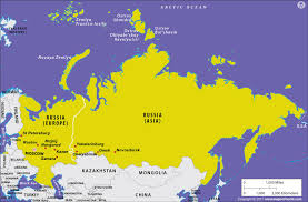 is russia in europe or in asia? answers Russia And Europe Map map showing russia in europe and asia russia and europe map quiz