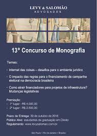 concurso de monografias