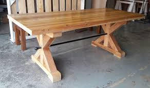 Solid Reclaimed Oregon Farm Style Dining Table Tables For Sale