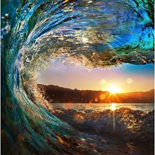 Ocean Wave Background Beibehang High Quality Photo Wallpaper Ocean Waves Ocean View