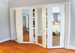 Mirrored Bifold Closet Doors Lowes Gallery doors design modern