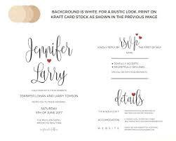 Free Download Wedding Invitation Templates Wedding Invitations Template Beautiful Card Rustic Invitation