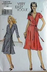 Wrap Dress Sewing Pattern Amazing Vogue V48 Misses Diane Von Furstenberg Style Wrap Dress Sewing