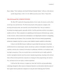 mla format works cited essay co mla
