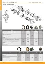 tractor parts volume 2 front axle page 146 sparex parts lists s 700268 tractor parts volume 2 tp09 1288