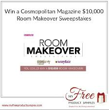 Captivating Win A Cosmopolitan Magazine $10,000 Room Makeover Sweepstakes