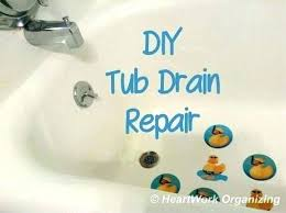 remove pop up drain plug bathtub removing a bathtub drain how to remove tub stopper replace