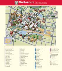 northeastern university map for  roundtripticketme