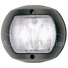 navigation lights for water craft perko 0170 stern white led navigation light black case 12v