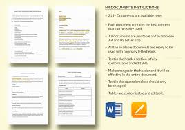 Hr Documents Templates Package For All Human Resources Needs