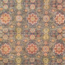 antique oversized william morris arts crafts rug 49912