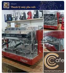 Thanh lý Máy pha cafe chuyên nghiệp Astoria Start 2 group màu đỏ đẹp