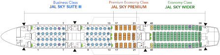 American Airlines Flight 723 Seating Chart Boeing787 9 789 Aircrafts And Seats Jal
