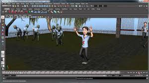 creating a zombie simulation using mel part 5 maya tutorial scripting