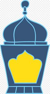 light oil lamp clip art blue oil lamp of eid al fitr