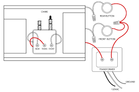 chime and 24 volt transformer wiring diagram with front button transformer wiring instructions chime and 24 volt transformer wiring diagram with front button