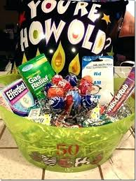 present for 40th birthday funny birthday gifts homemade gift basket idea fun 40th ideas for wife