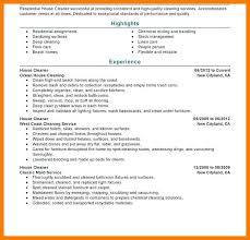 8 9 House Cleaner Resume Examples Tablethreeten Com
