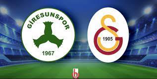 Galatasaray'ın Giresunspor maçı 11'i belli oldu