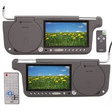 sun visor monitors sunvisor monitors are replacement lcd gryphon mv 7svdvd gryphon 7 wide screen replacement sun visor monitors one dvd