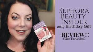 sephora beauty insider 2017 birthday gift review